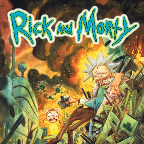 Rick & Morty the animated TV comedy