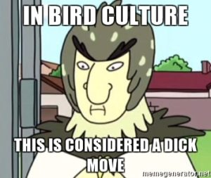 Rick and Morty - dick move meme